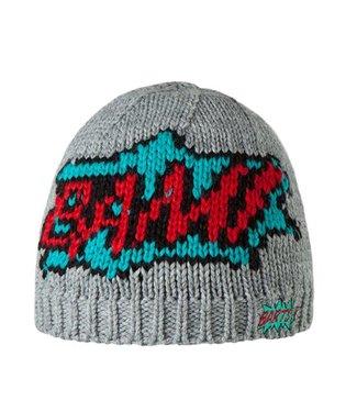 Barts Bam Pow Mütze Grau
