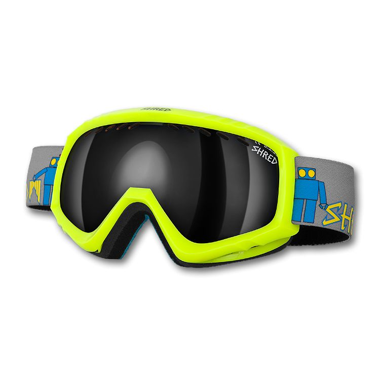 Hoyden Goggle Robot boogie geel