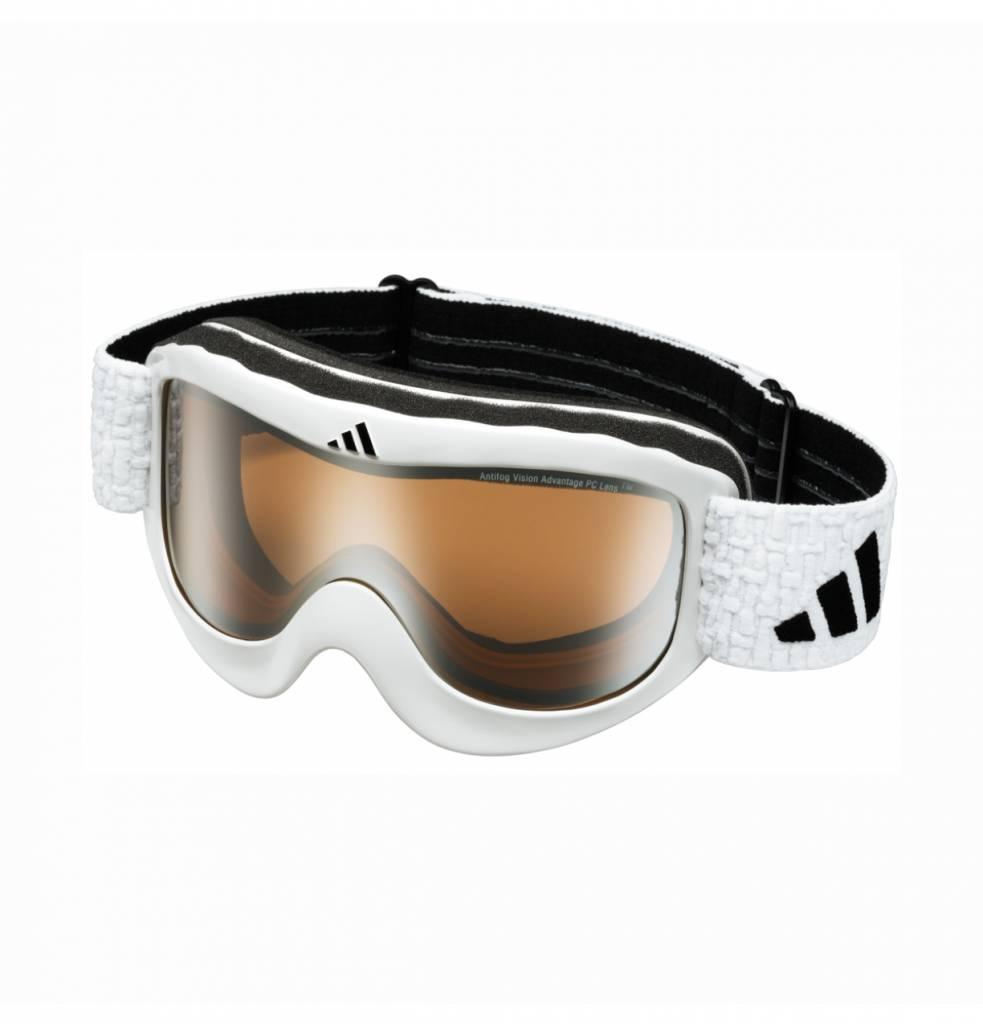 Pinner Skibril Glanzend Wit-LST Bright