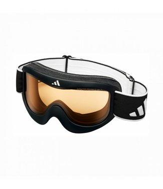 Adidas Pinner Skibril Glanzend Zwart-LST Bright