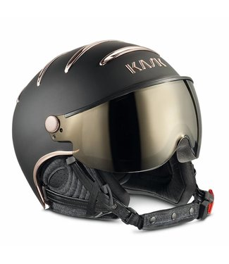 Kask Chrome Zwart/Rose Goud