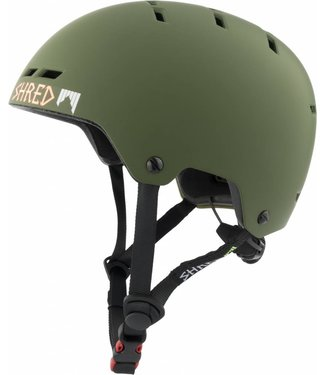 SHRED Bumper Noshock Light Woodland - Military Green