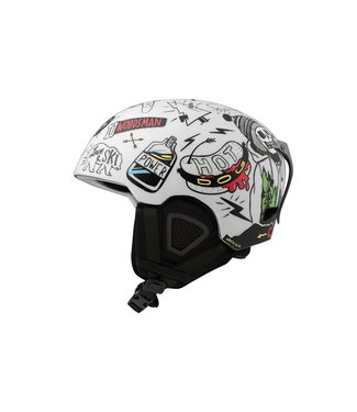 DMD Skulls - In-mold skihelmet White