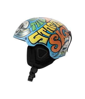 DMD Soul - Freestyle Vintage In-mold skihelmet blue