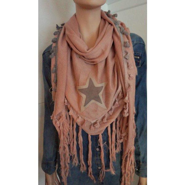 Sjaal met ster