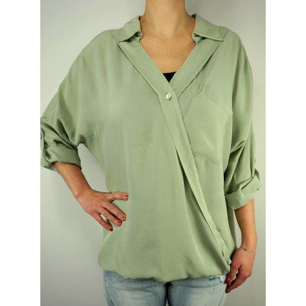 Groene blouse