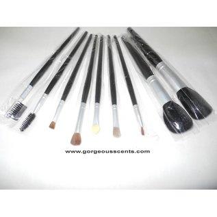 Accessoires Make-up Pinsel im Etui