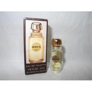 Givenchy GIVENCHY III EAU DE TOILETTE 4 ml Miniatur