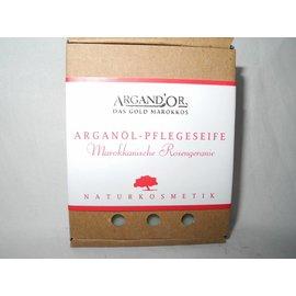 Argand'Or ARGANÖL PFLEGESEIFE MAROKKANISCHE ROSENGERANIE