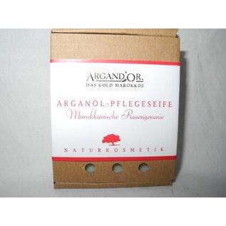 Argand'Or ARGANÖL PFLEGESEIFE MAROKKANISCHE ROSENGERANIE 100 g