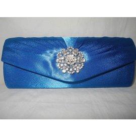 Fashion Only Avondtasje stralend blauw