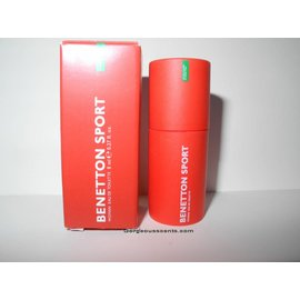 Varia brands BENETTON SPORT WOMAN EDT 8 ml Mini