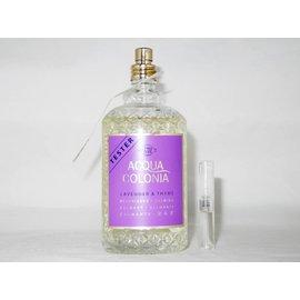 4711 Original perfume samples of 4711 Acqua Colonia