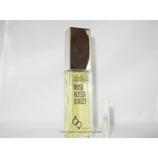 Alyssa Ashley MUSK EAU DE TOILETTE 2 ml Spray Duftprobe