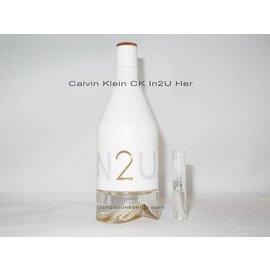 Calvin Klein geur staaltjes van Calvin Klein voor dames