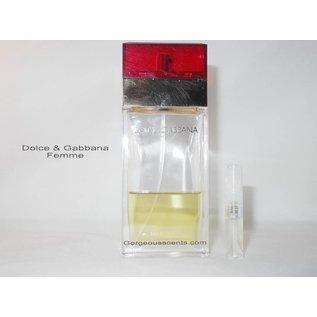 Dolce & Gabbana Duftproben von Dolce&Gabbana 2 ml spray