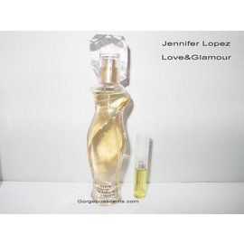 Jennifer Lopez geur staaltjes LOVE and GLAMOUR EDP 2 ml spray