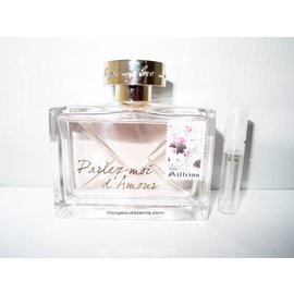 John Galliano geur staaltje van PARLEZ-MOI D'AMOUR EDT 2 ml spray