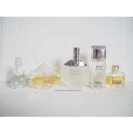 Varia brands 1 lot miniatuur parfums zonder doosjes