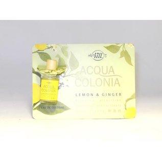 4711 Original LEMON&GINGER EAU DE COLOGNE 3 ml