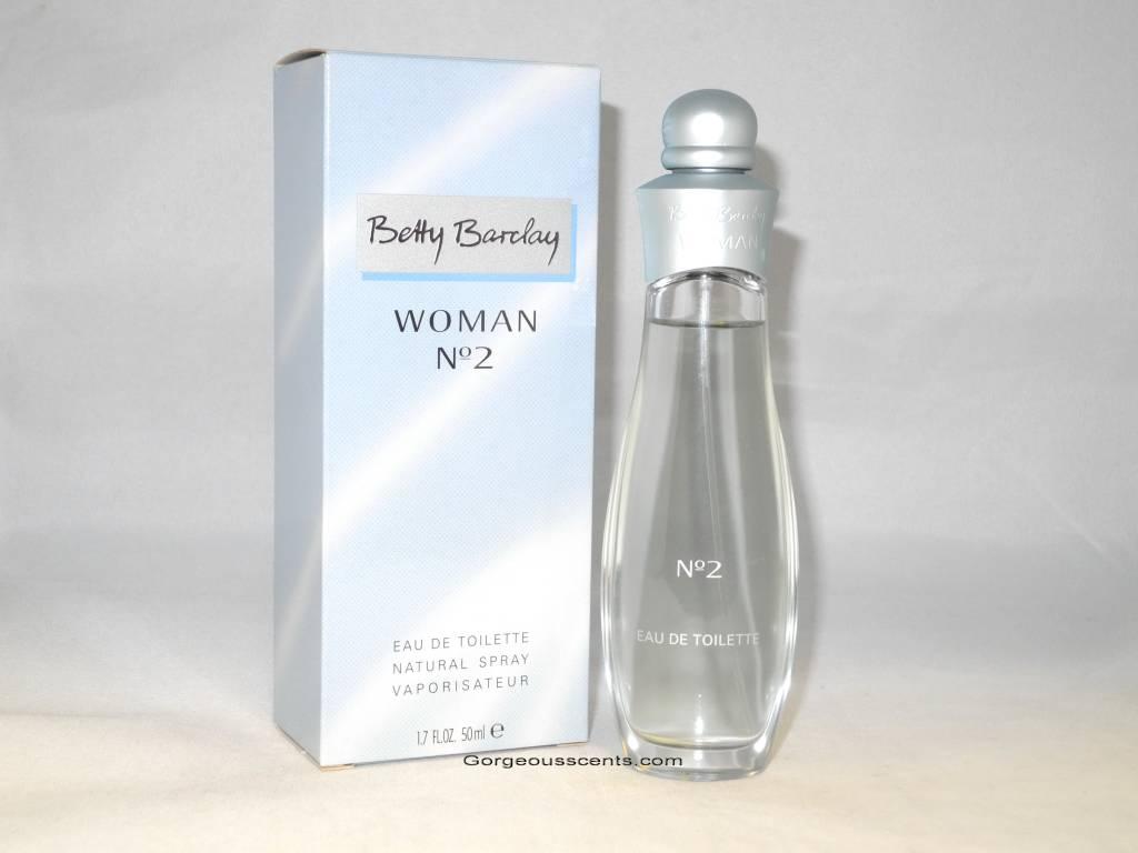 betty barclay woman n 2 eau de toilette 50 ml spray. Black Bedroom Furniture Sets. Home Design Ideas