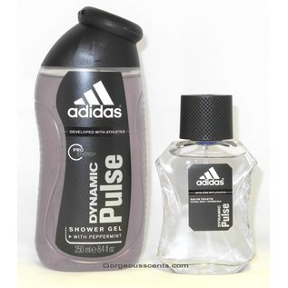 Adidas DYNAMIC PULSE EAU DE TOILETTE 50 ml Spray Geschenkset