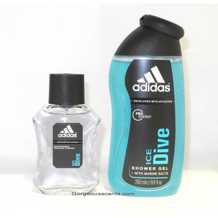 Adidas ICE DIVE EAU DE TOILETTE 50 ml Spray Geschenkset