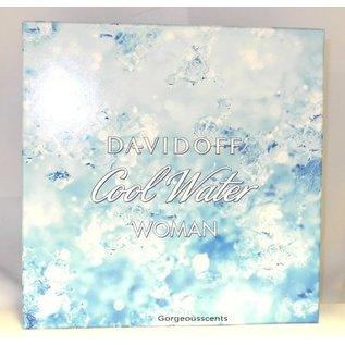 Davidoff COOL WATER WOMAN EAU DE TOILETTE 50 ml Spray Geschenkset