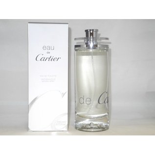 Cartier EAU DE CARTIER EAU DE TOILETTE 200 ml Spray