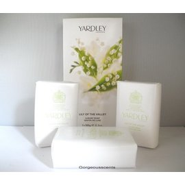 Yardley LILY OF THE VALLEY SOAP 100 g x 3