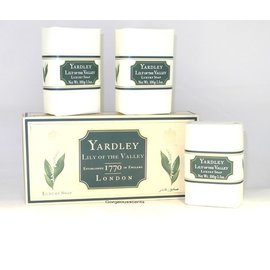 Yardley LILY OF THE VALLEY Seife 100 g Set