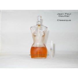 Jean Paul Gaultier geur staaltjes van Jean Paul Gaultier