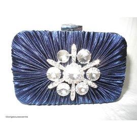 Fashion Only Abendtasche in dunkelblau