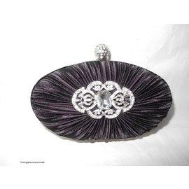 Fashion Only Abendtasche, schwarz