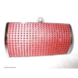 Fashion Only Abendtasche, oval, rot