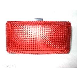 Fashion Only Abendtasche, rechteckig, rot