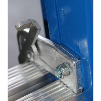 ASC 3 delige ladder 3x10 treden (blauwe coating)