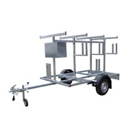 Steigeraanhangers | De perfecte oplossing voor het vervoer van uw rolsteigers | Gratis verzending.