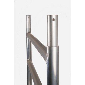 Euroscaffold Rolsteiger Compleet 75 x 250 x 6,2 meter werkhoogte