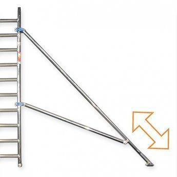 Euroscaffold Telestabilisator rolsteiger 2,0 meter