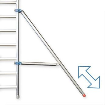 Euroscaffold Telestabilisator rolsteiger 3,0 meter