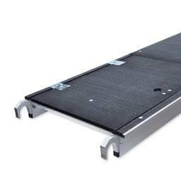 Lichtgewicht platform met luik 250 cm