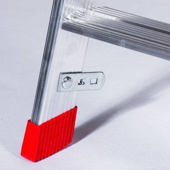Lichtgewicht dubbele trap 2x5 treden