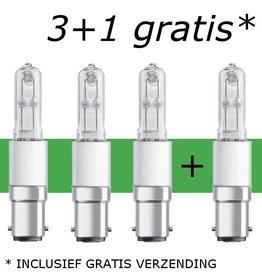 Offre (3+1 gratuit) B15d 60W