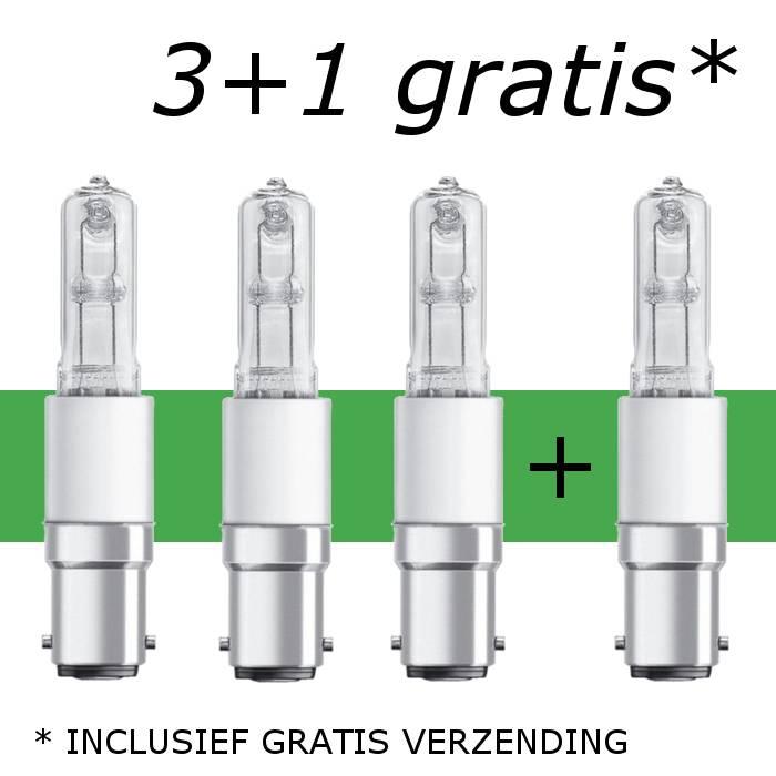 Promotie (3+1 gratis) B15d 60W