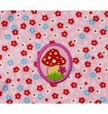 Knuffeldoekje haasje roze