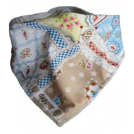 Kleine Lucas Kwijlslab patchwork Dapper Studio van Kleine Lucas