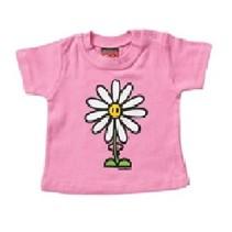 Roze baby T-Shirt Daisy