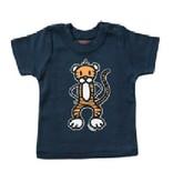 Mick & Malu Navy blauw babyShirt Kit van Mick&Malu