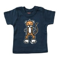 Navy blauw baby T-Shirt Kit